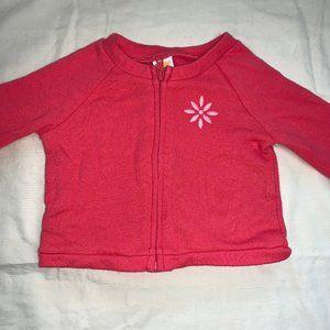 GYMBOREE Pink Zip-up Sweater.